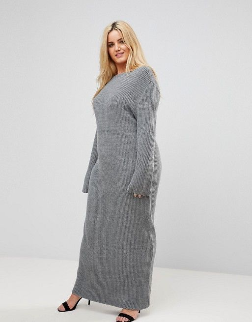 b147f8a9c Alice and You Sweater Maxi Dress | Clothes | Dresses, Plus size ...