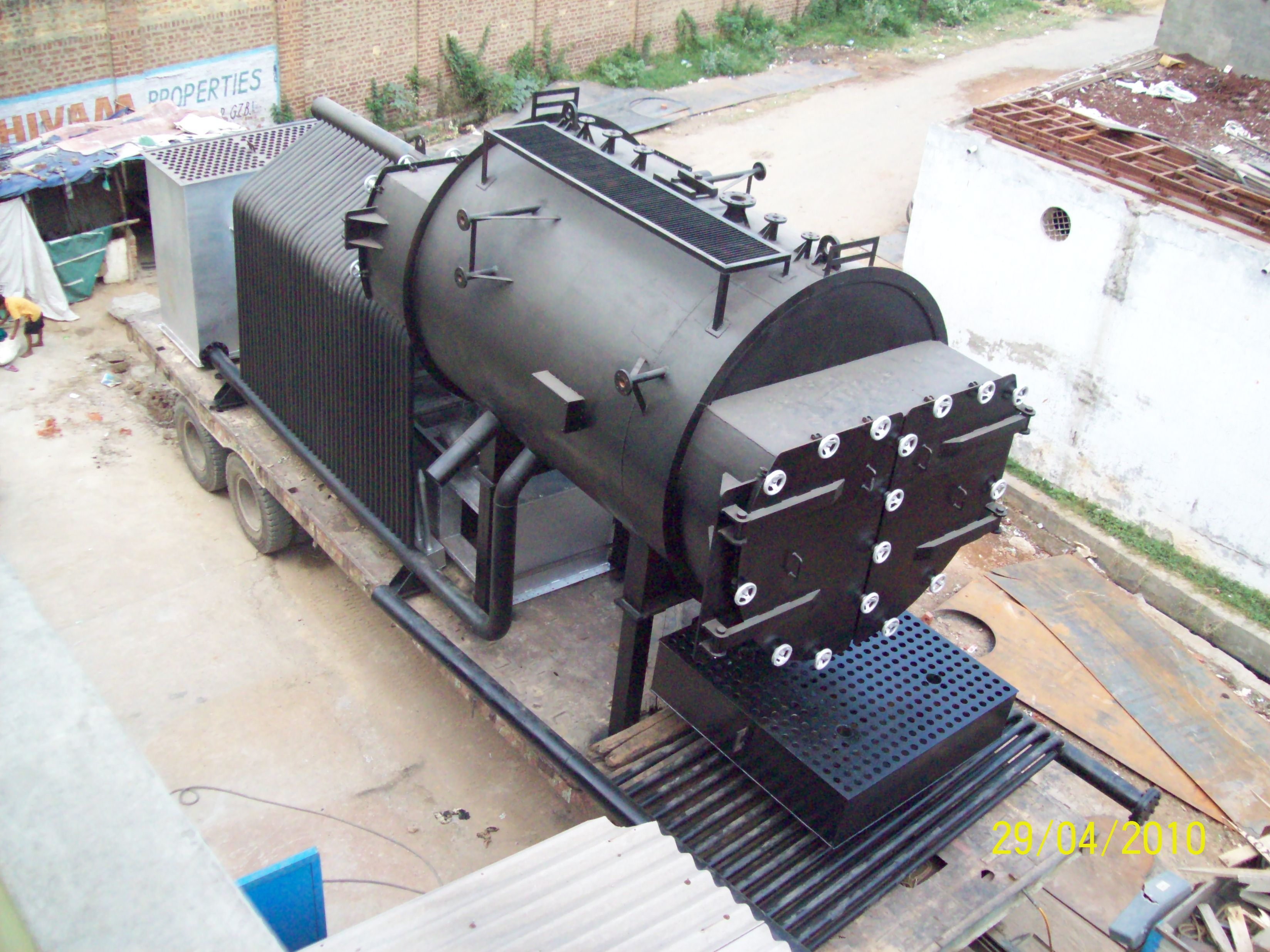 Combitherm- 3 Pass Smoke Cum Water Tube Type Boiler | Pinterest ...