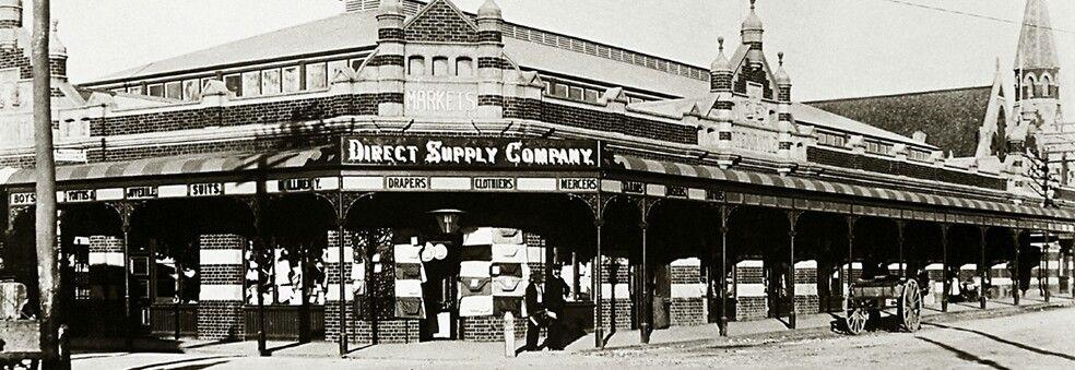 Fremantle Markets In Western Australia In 1900 Western Australia Fremantle Australia