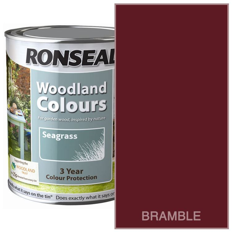 Details About Ronseal Outdoor Exterior Garden Paint Wood Brick Metal Stone All Colour S 2 5l