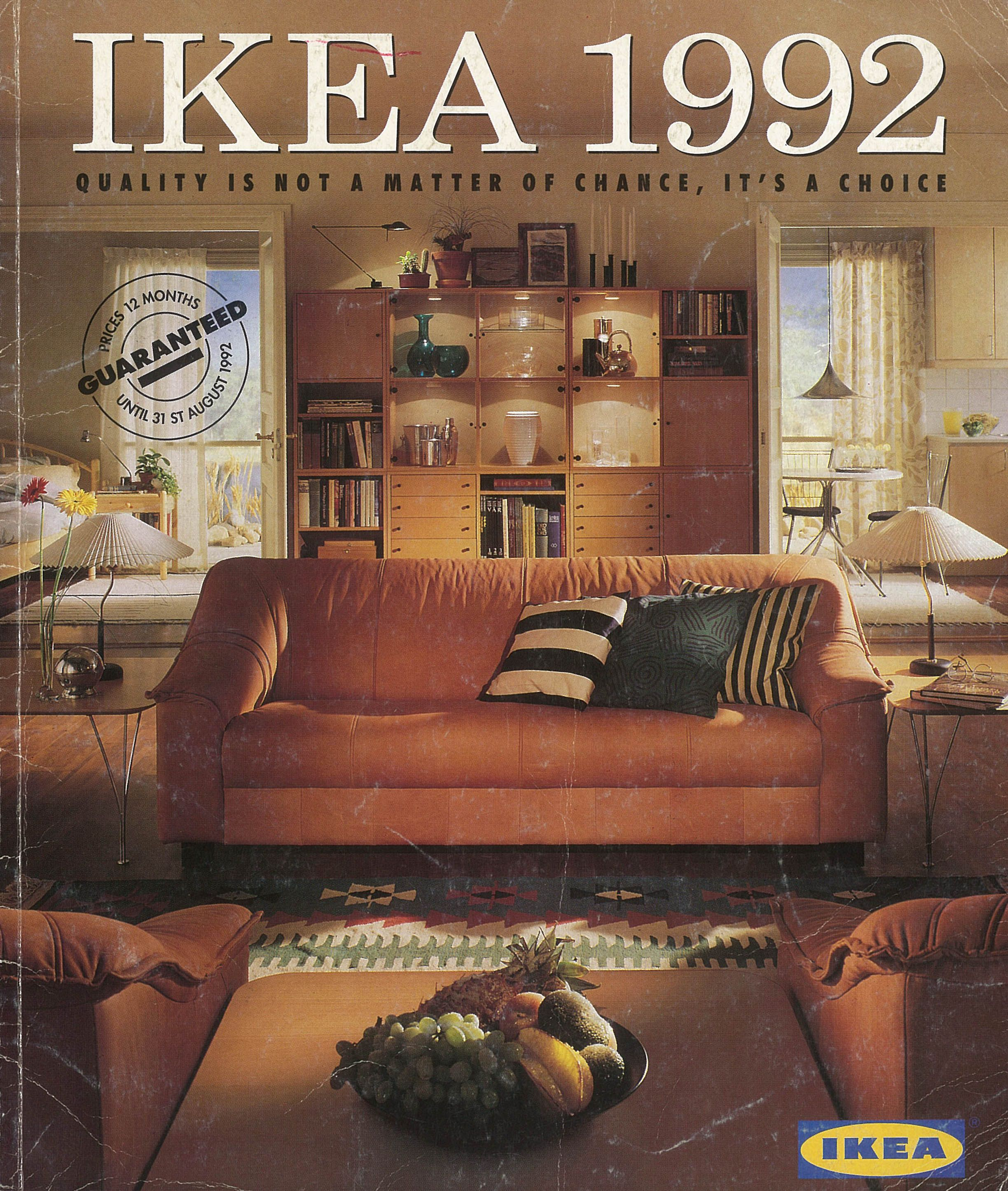 The 1992 IKEA Catalogue cover. (With images) 90s decor