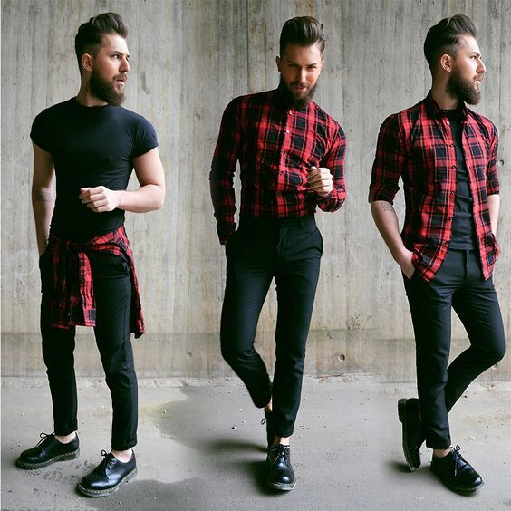 5 Different Ways To Style Your Flannel Shirt Mens Fashion Blog By