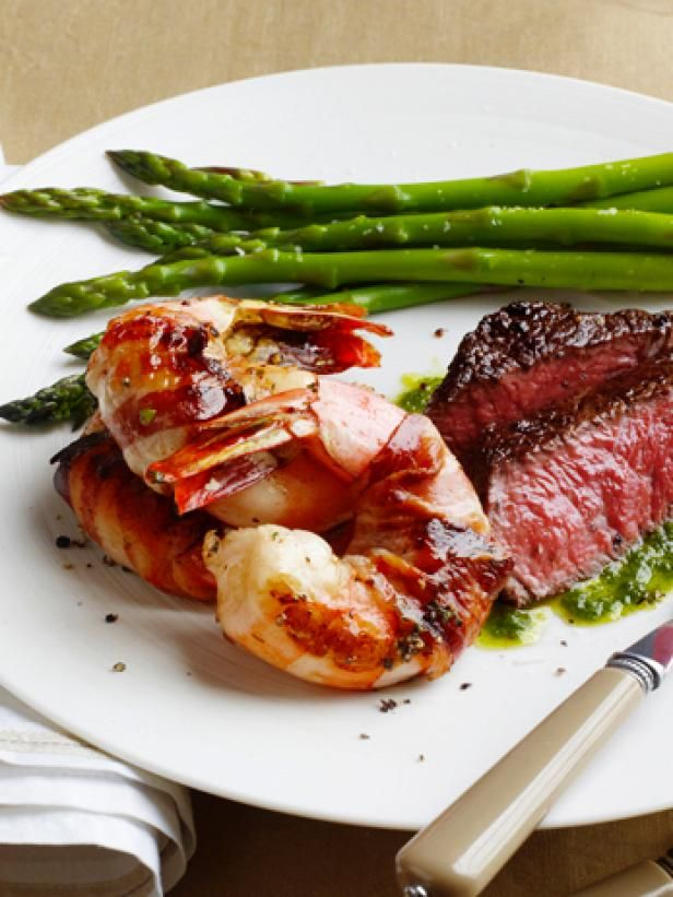 surf and turf for two ricetta surf pancetta e pancetta tacchino easy valentine meals