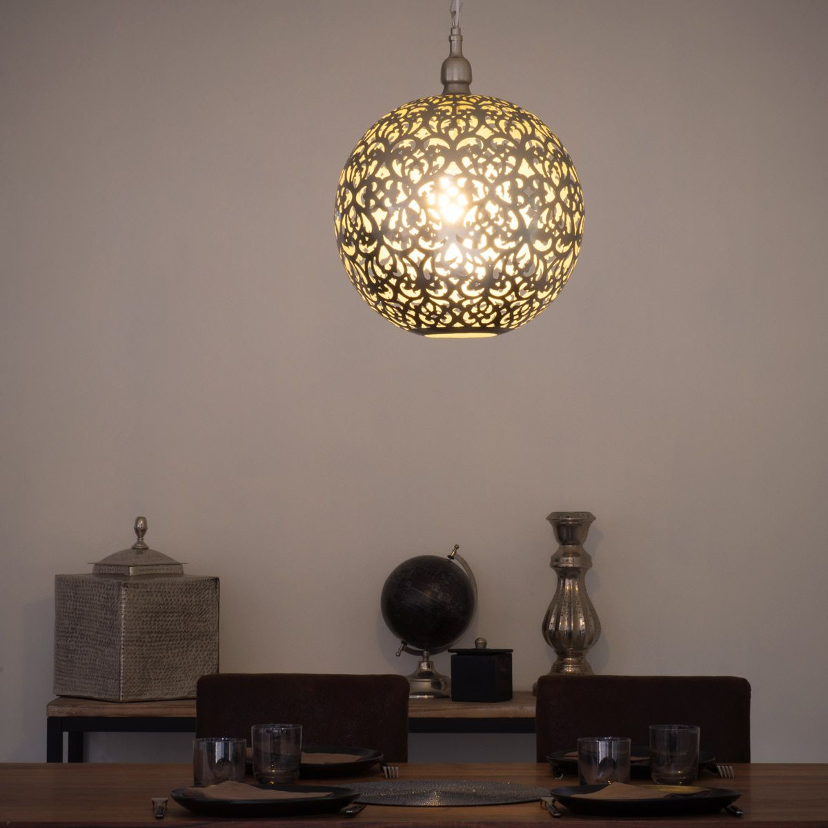 Perforated Metal Pendant (Shade Only) | Ceiling lights ... on Decorative Wall Sconces Non Electric Lights For Closets id=46660