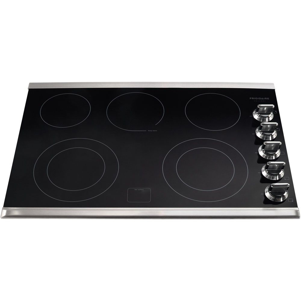 Electrolux Gallery Series 30 In Electric Cooktop Electric Cooktop Frigidaire Gallery Cooktop