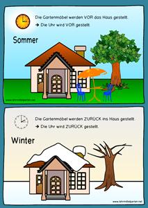 Zeitumstellung: Sommerzeit - Winterzeit   Pinterest   Sommerzeit ...