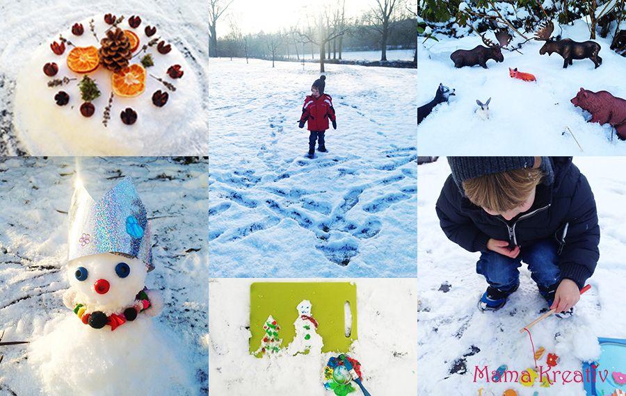 spaß im winter 4 tolle spiele im winter für kinder