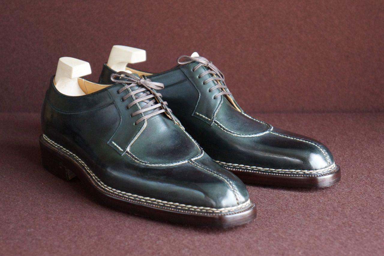 """ilquadrifoglio: """"il Quadrifoglio Official Site : http://ilquadrifoglio-kobe.com/ Calzature Su Misura, prodotto di KOBE fatto a mano Photo by Nutcracker, Styleforum Japanese Shoes:Bespoke & RTW Super..."""