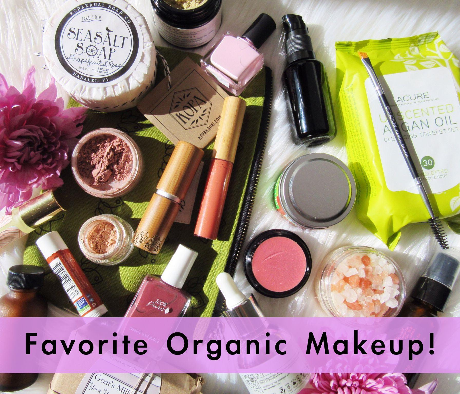 Shop #organicmakeup