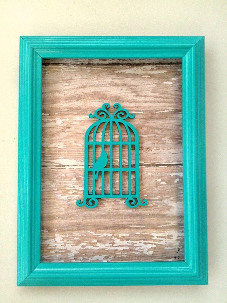 DIY Custom Framed Art Is A Fun Craft Project That Will Really Add To Your  Home