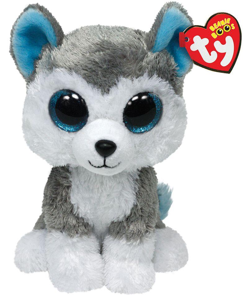 Ty Slush Husky Dog Beanie Boo Dog Beanie Boo The Dog Boo Plush