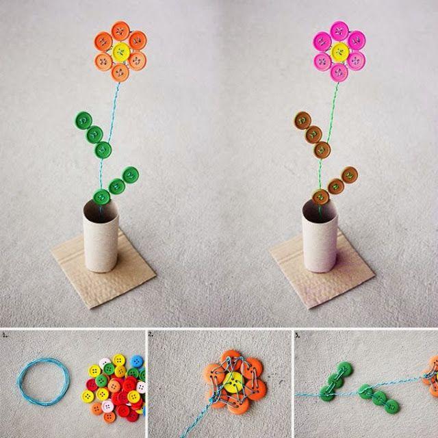 Bellart Atelier: Vaso de flores com botão.