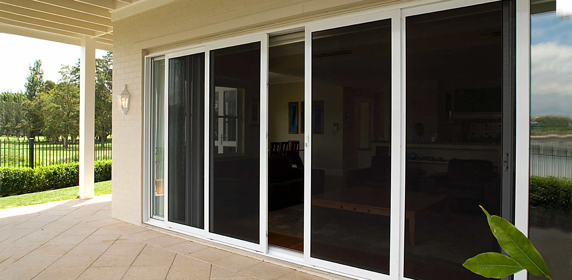 Vusafe Security Screens For Doors And Windows Provide The Protection Of Steel With The Look Of An Sliding Screen Doors Security Screen Door Custom Patio Doors