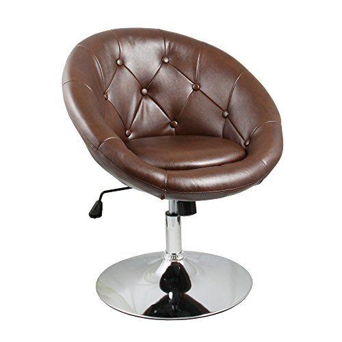 Apontus Round Back Swivel Accent Chair Dark Brown Apontus Http