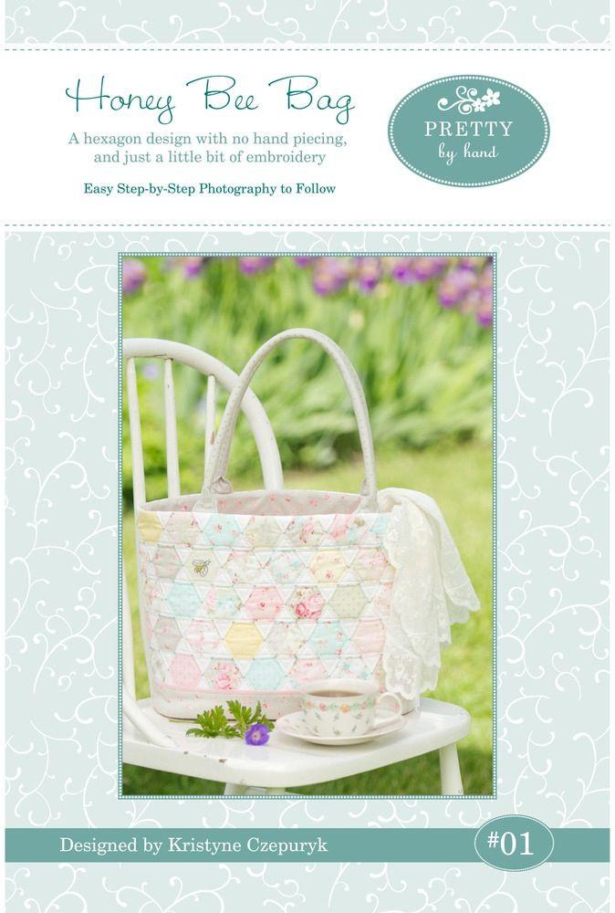 Pretty By Hand — PDF VERSION - Honey Bee Bag Pattern