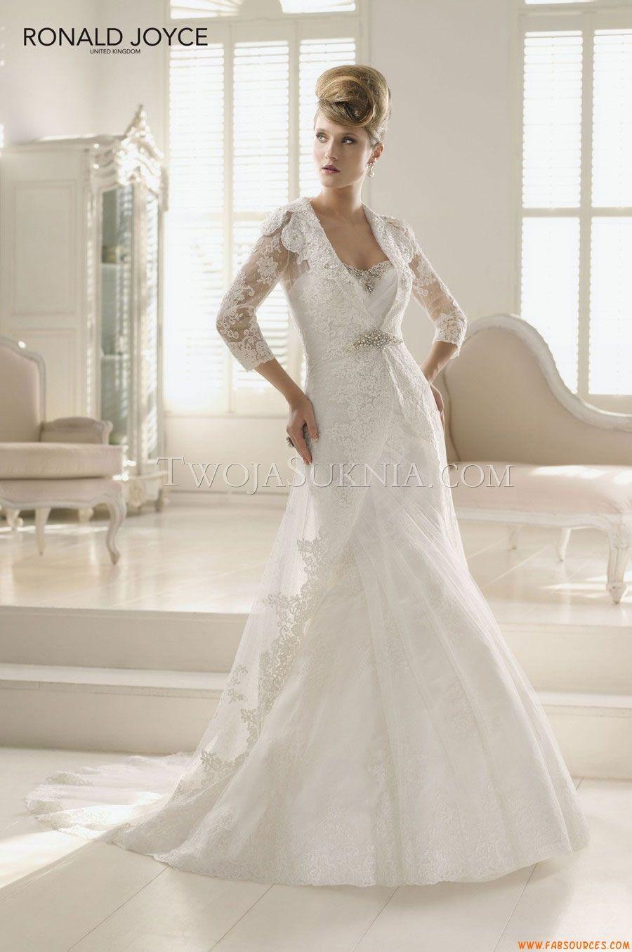 Robes de mariée ronald joyce poppy mariage de rêve