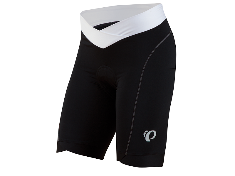 "Pearl Izumi Womens Select In-RCool short  £49.99 The new Women's SELECT In-R-Cool®Short combines a ""V"" waistband for easy belly breathing with ultra-soft, high-performance fabric and a gripper-free leg hem for benchmark performance and on-the-bike comfort.      SELECT Transfer In-R-Cool® fabric powered by Ice-fil® sets the benchmark for skin cooling and moisture transfer when you perspire     6-panel anatomic design     Flattering V waistband for superior comfort     Gripper-free"