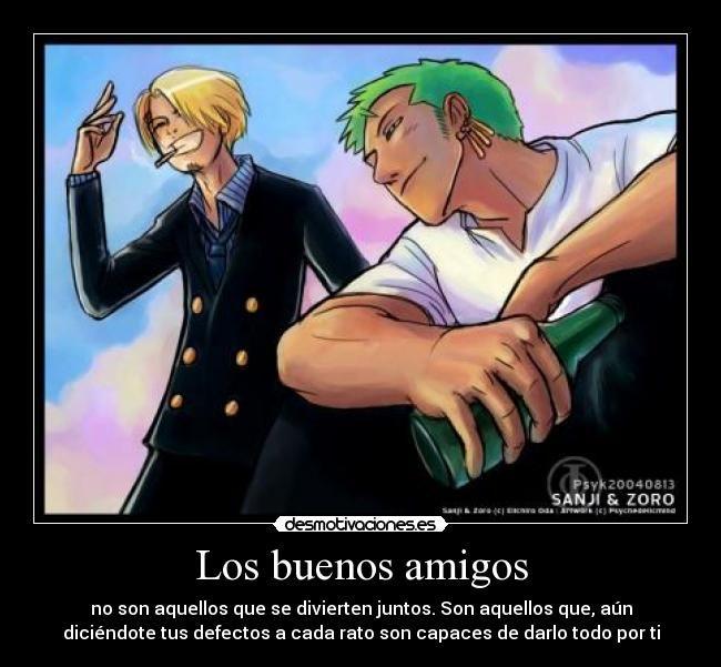 Carteles Amigos One Piece Anime Amigos Divertir Defectos