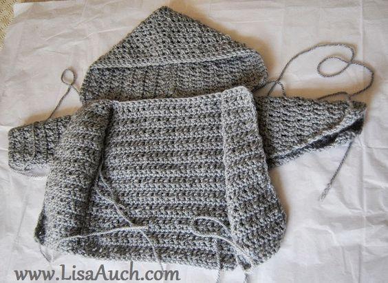 Crochet Baby Boy Cardigan Pattern With Hood Easy Hooded Crochet