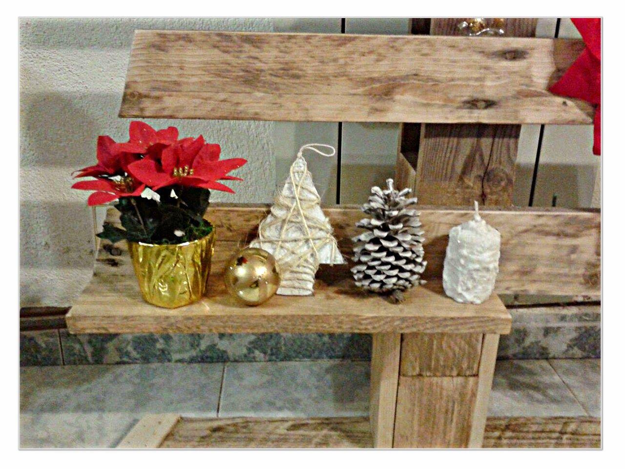 Las manualidades de Sharon: Árbol de navidad con un palé