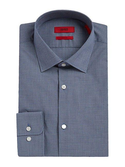 5a7666fa3 HUGO BOSS MABEL CHECKED DRESS SHIRT. #hugoboss #cloth # | Hugo Boss ...