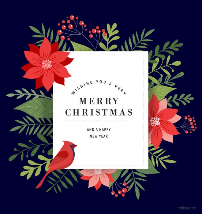 25 Beautiful Business Christmas Cards Designs Business Christmas Cards Merry Christmas Card Greetings Business Christmas