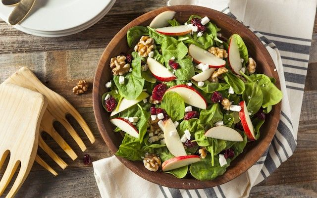Save this holiday recipe to make a Christmas Apple Salad.