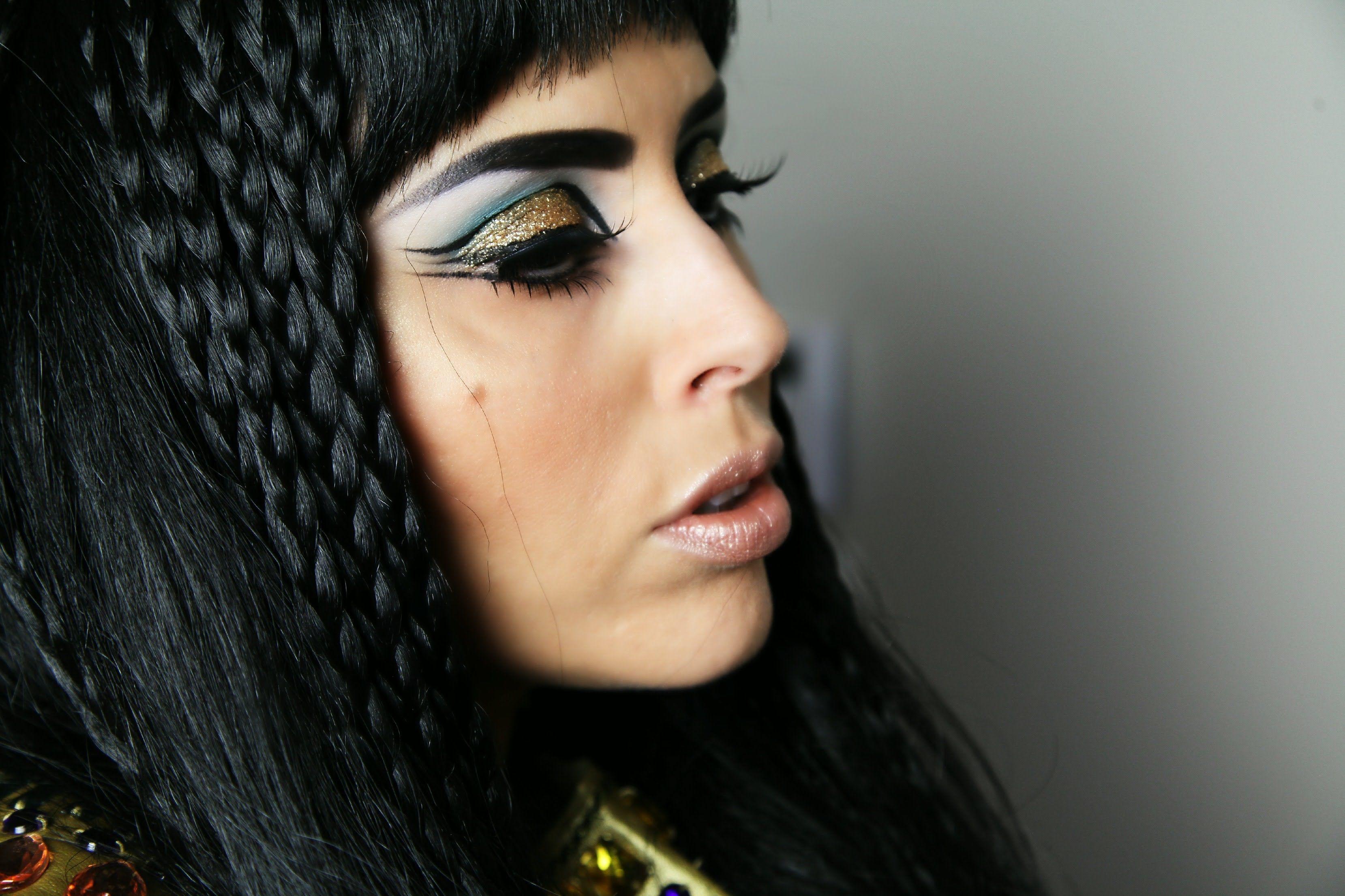 cleapatra make up CLEOPATRA Makeup Tutorial YouTube