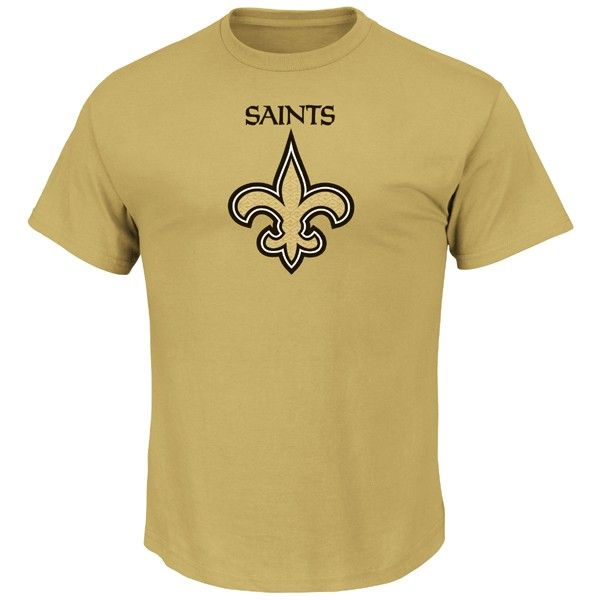 New Orleans Saints Majestic Critical Victory T-Shirt - Gold
