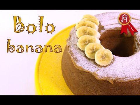 Bolo De Banana Muito Facil E Muito Bom Youtube Bolo De