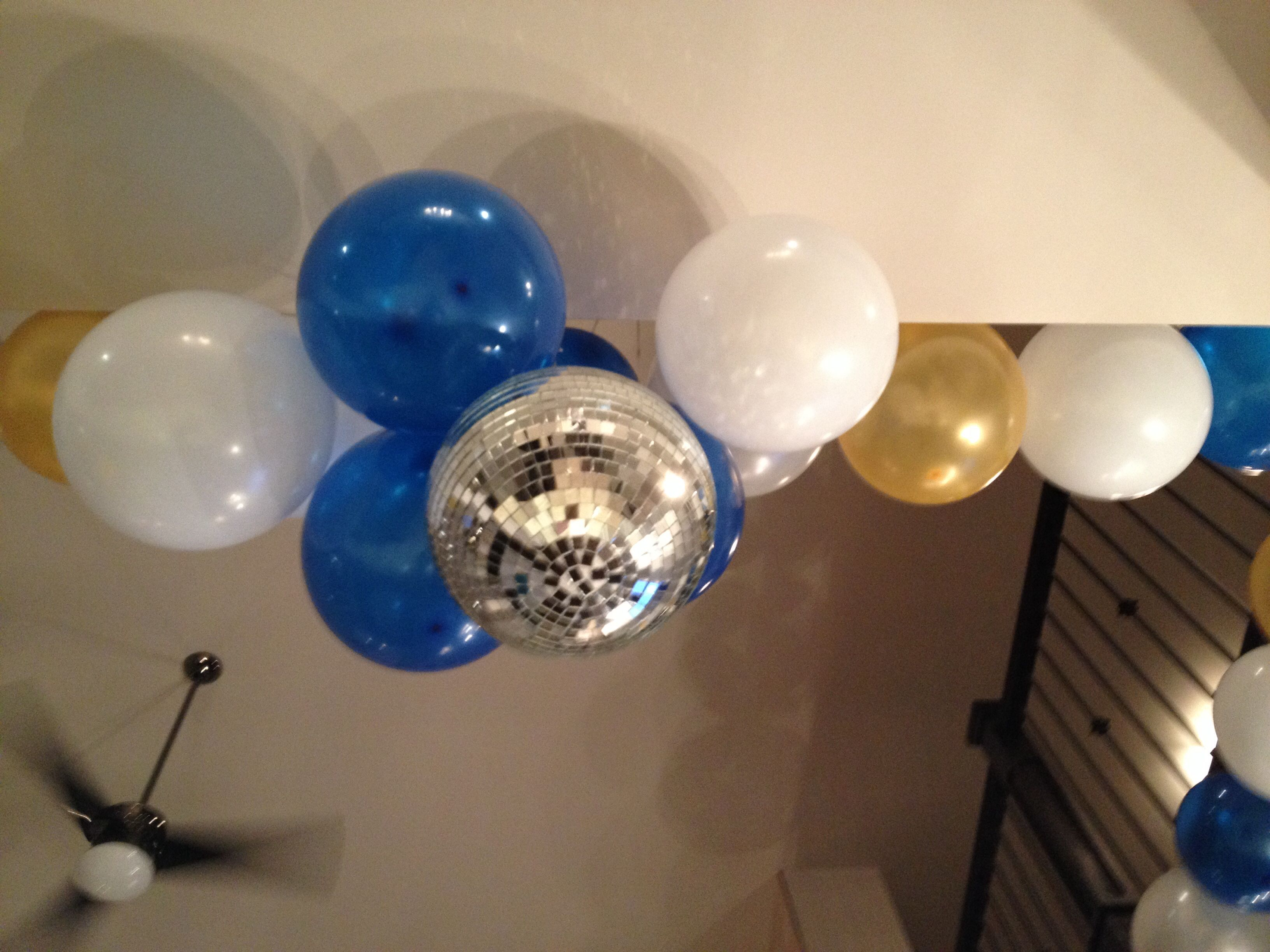 New Years Eve Party Ideas- balloon drop and disco ball ...