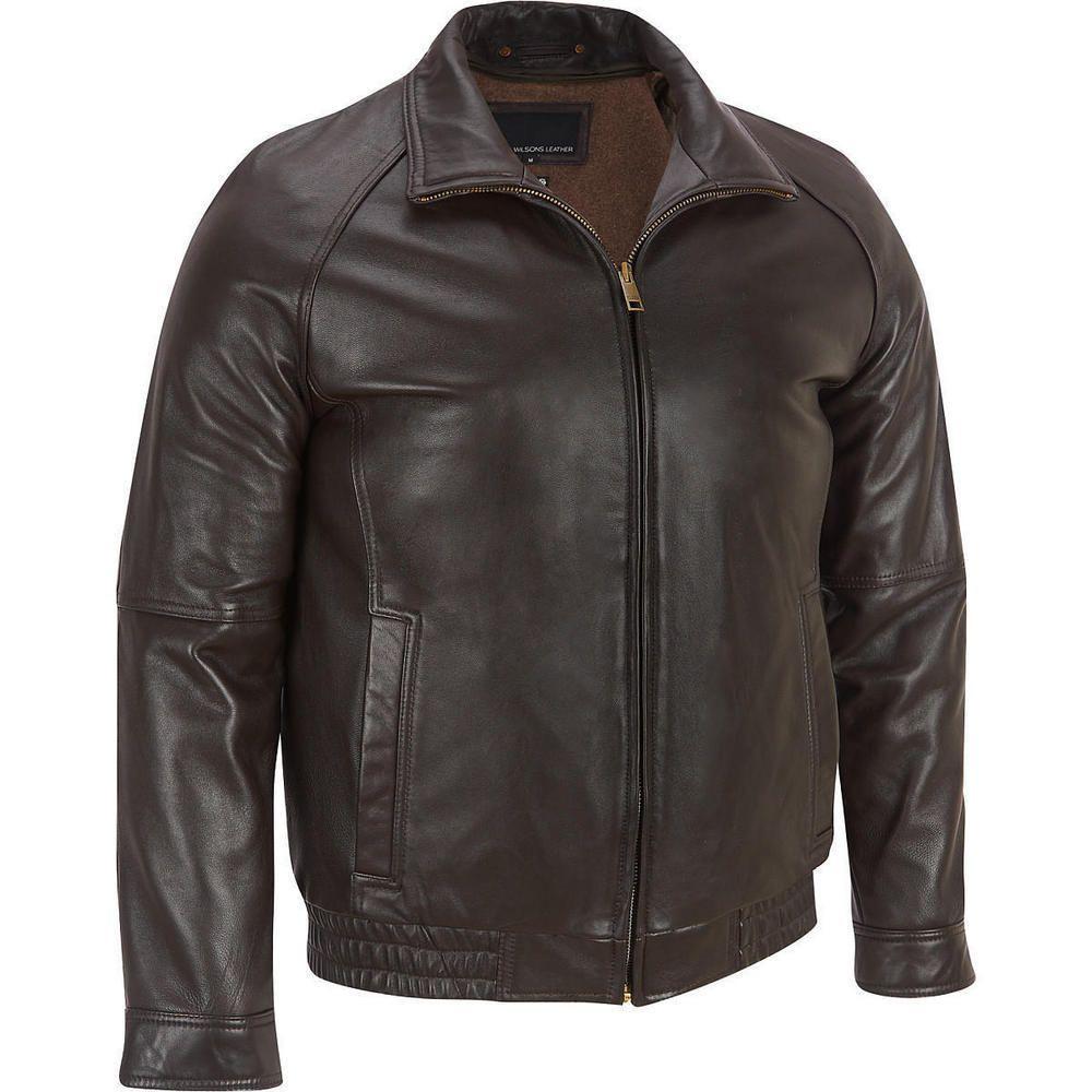 Shop By Category Ebay Cafe Racer Leather Jacket Leather Jacket Men Style Wilsons Leather [ 1000 x 1000 Pixel ]