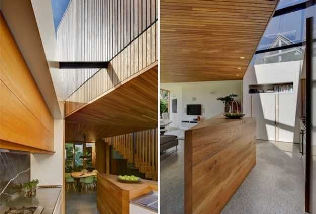 Unusual house exterior design and nature inspired modern home