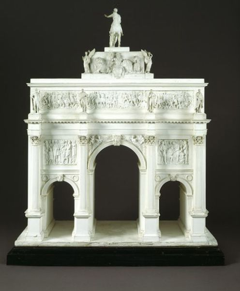 Cast Plaster Model Of The Marble Arch Today At The Top Of London S Park Lane But Originally Located Outside Architecture Model Marble Arch Stone Architecture