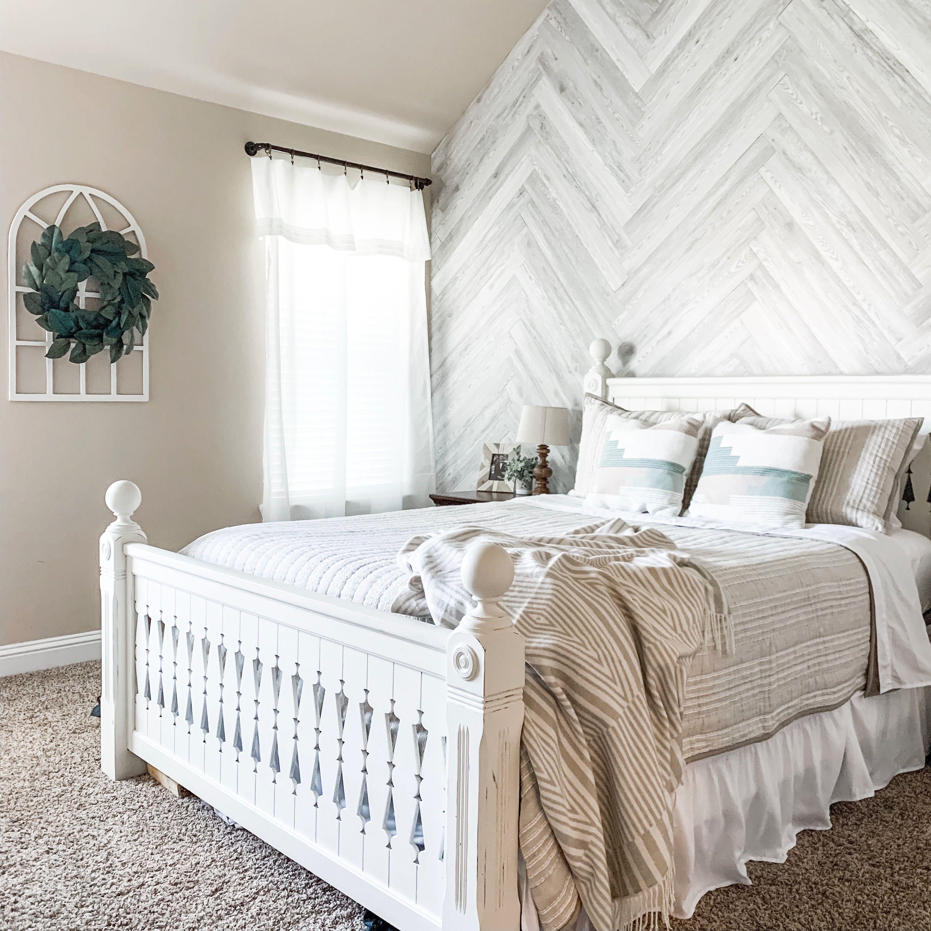 master bedroom farmhouse master bedroom accent wall