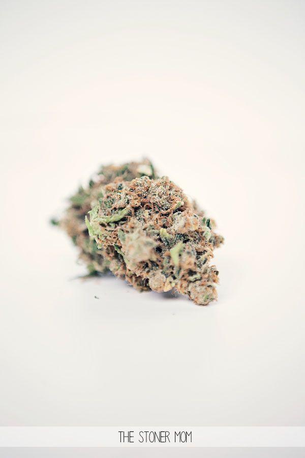 Snowcap- Sativa hybrid The Stoner Mom, where mothering meets marijuana.  thestonermom.com