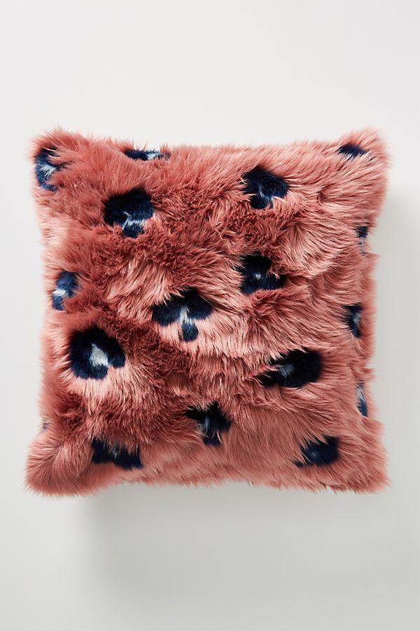 Dalia Faux Fur Pillow in 2020 Faux fur throw blanket