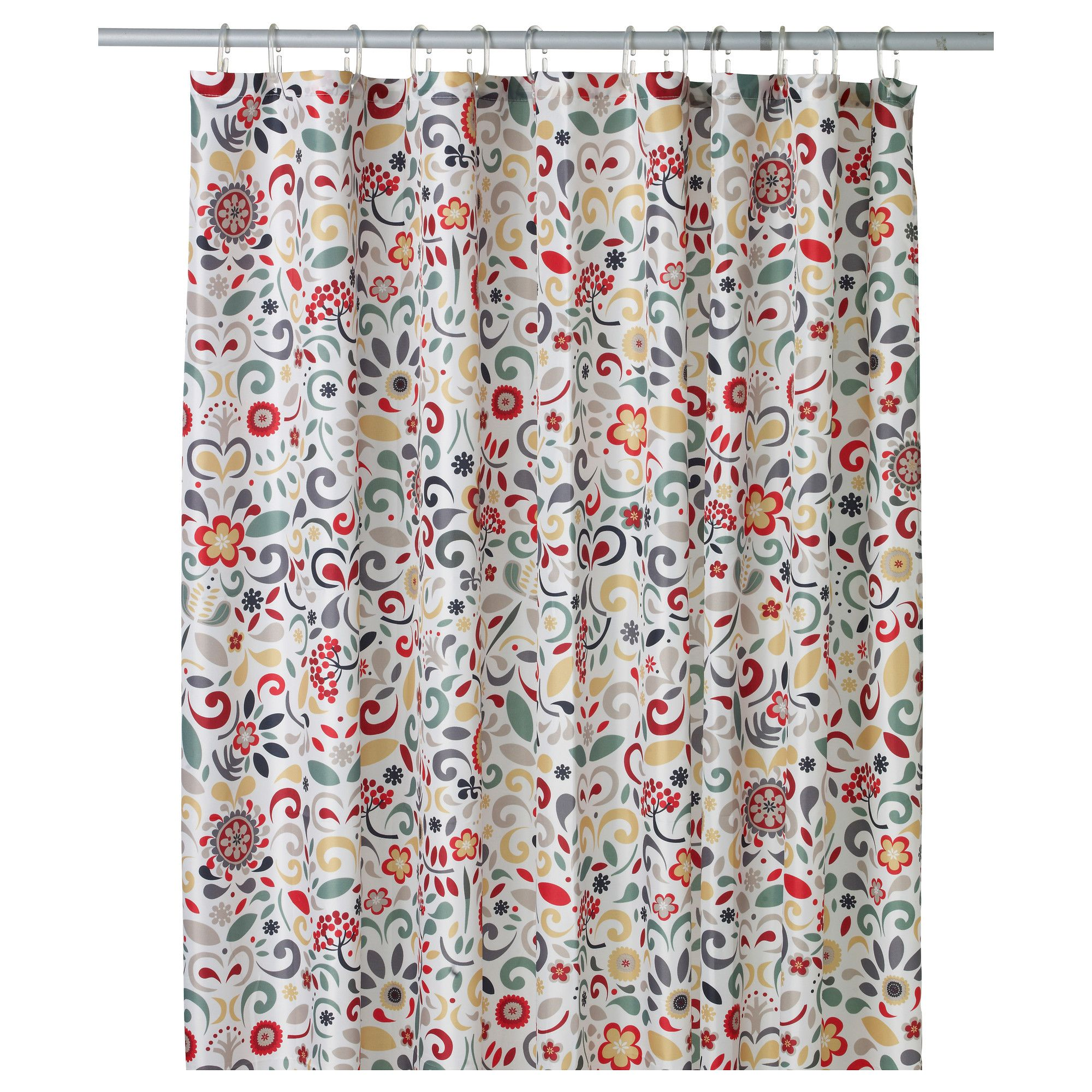 ÅKERKULLA Shower curtain - IKEA Use if need to separate spaces for ...