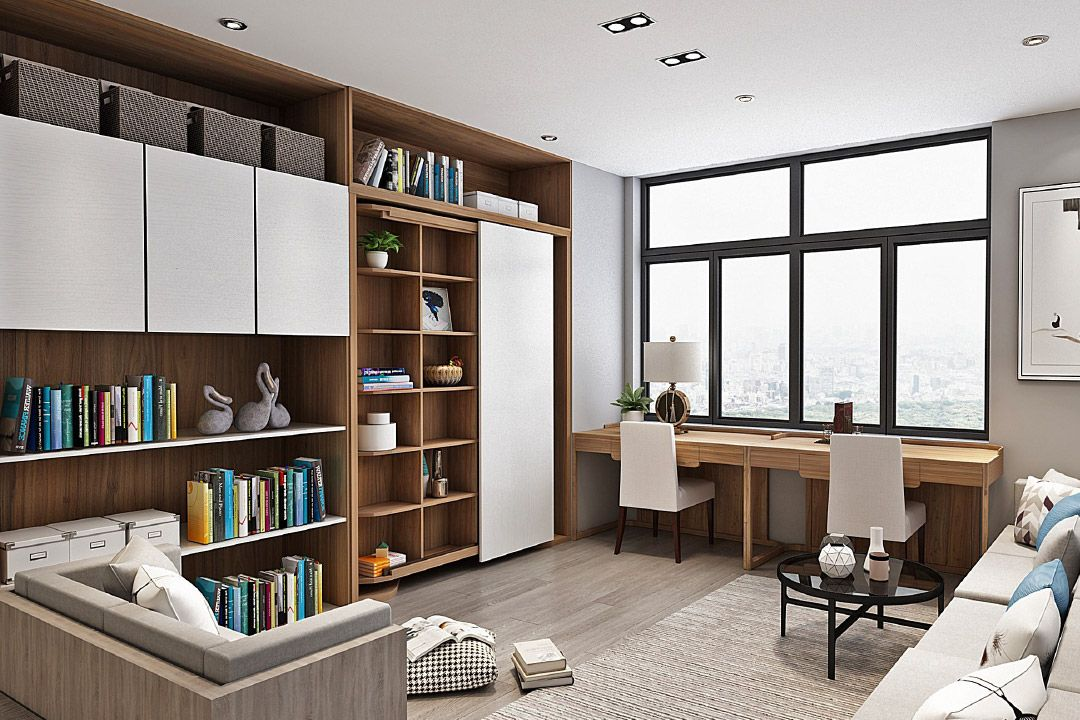 Rotating Bookcase Murphy Bed Fresh Revolving Bookcase Murphy Bed Wall Bed Revolving Bookcase Murphy Bed