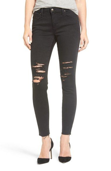 9f2edd1de5e Joe's Jeans Flawless Icon Destroyed Ankle Skinny Jeans available at  #Nordstrom