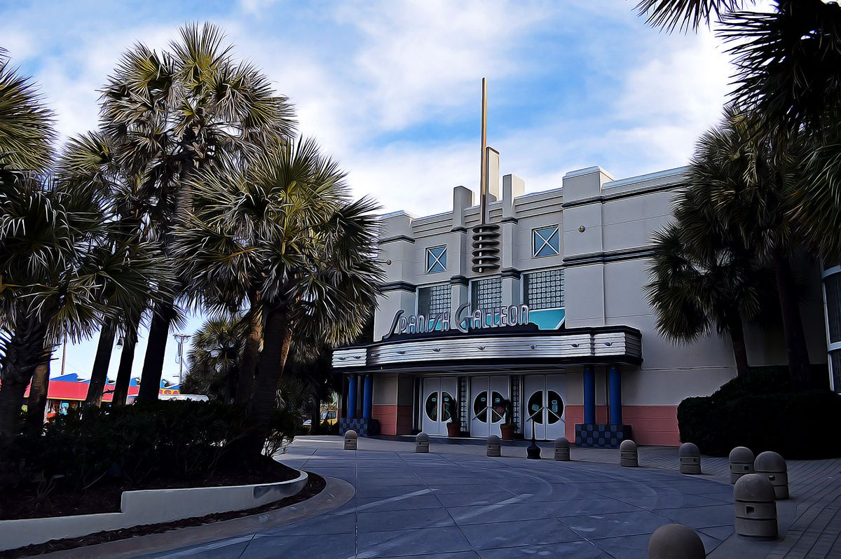 Picture Of The Spanish Galleon In Horseshoe Main Street Ocean Drive North Myrtle Beach South Carolina