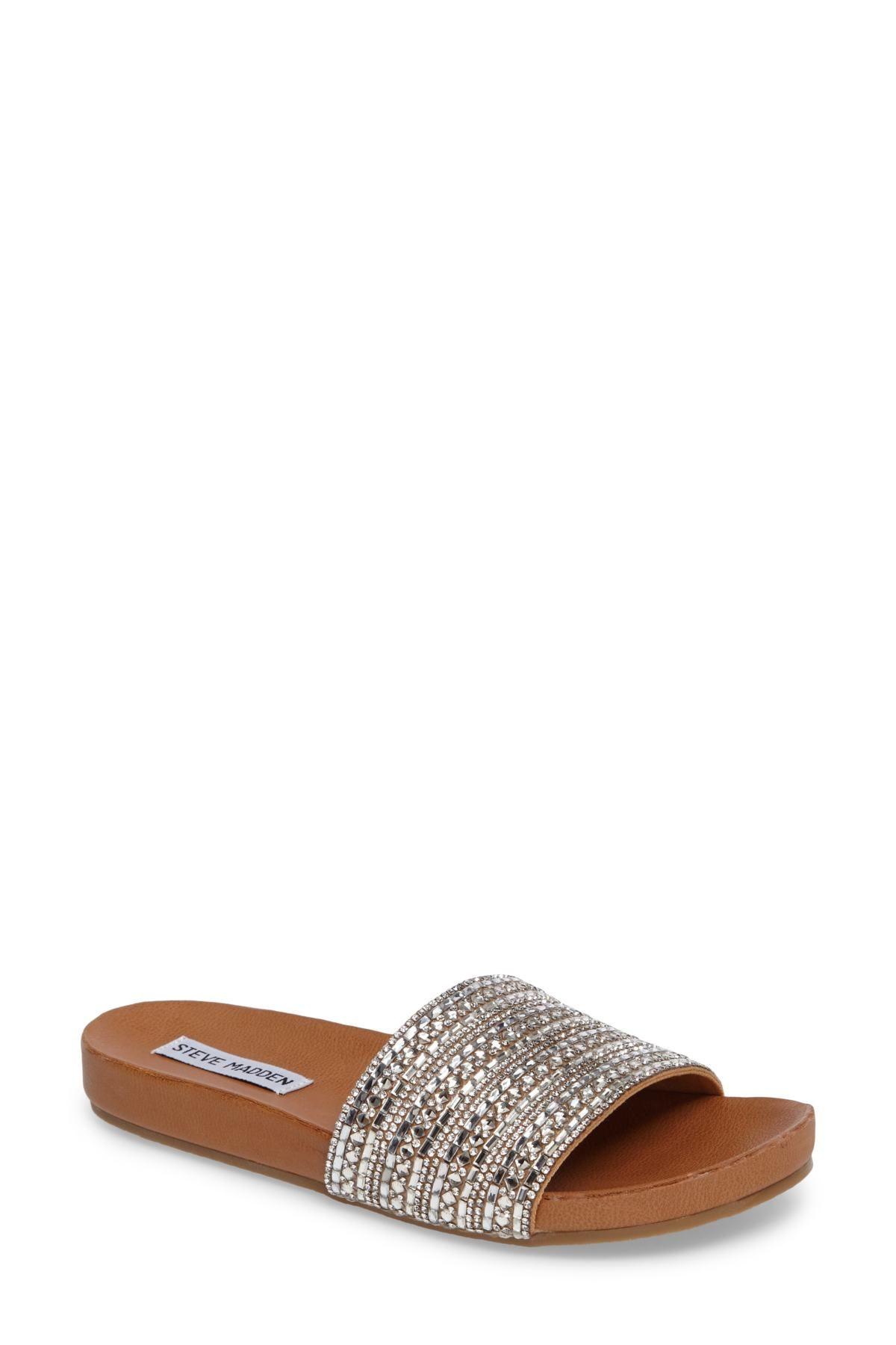 28b85485029d Dazzle Embellished Slide Sandal by Steve Madden on  nordstrom rack