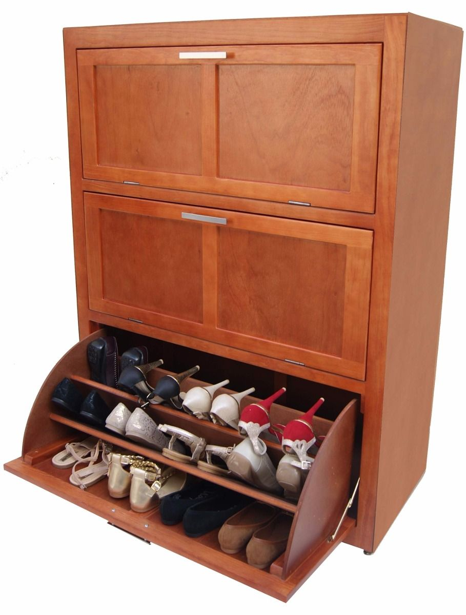 Zapatera levadiza 3 niveles mueble zapatero c moda - Armarios para zapatos ...