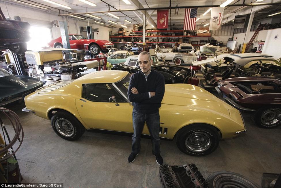 1969CorvetteStingray Corvette, Corvette stingray