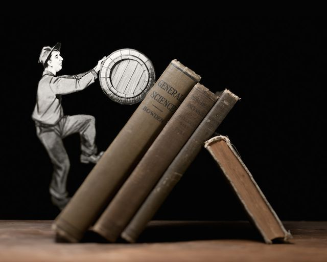 Book-Cut Illustrations by Thomas Allen