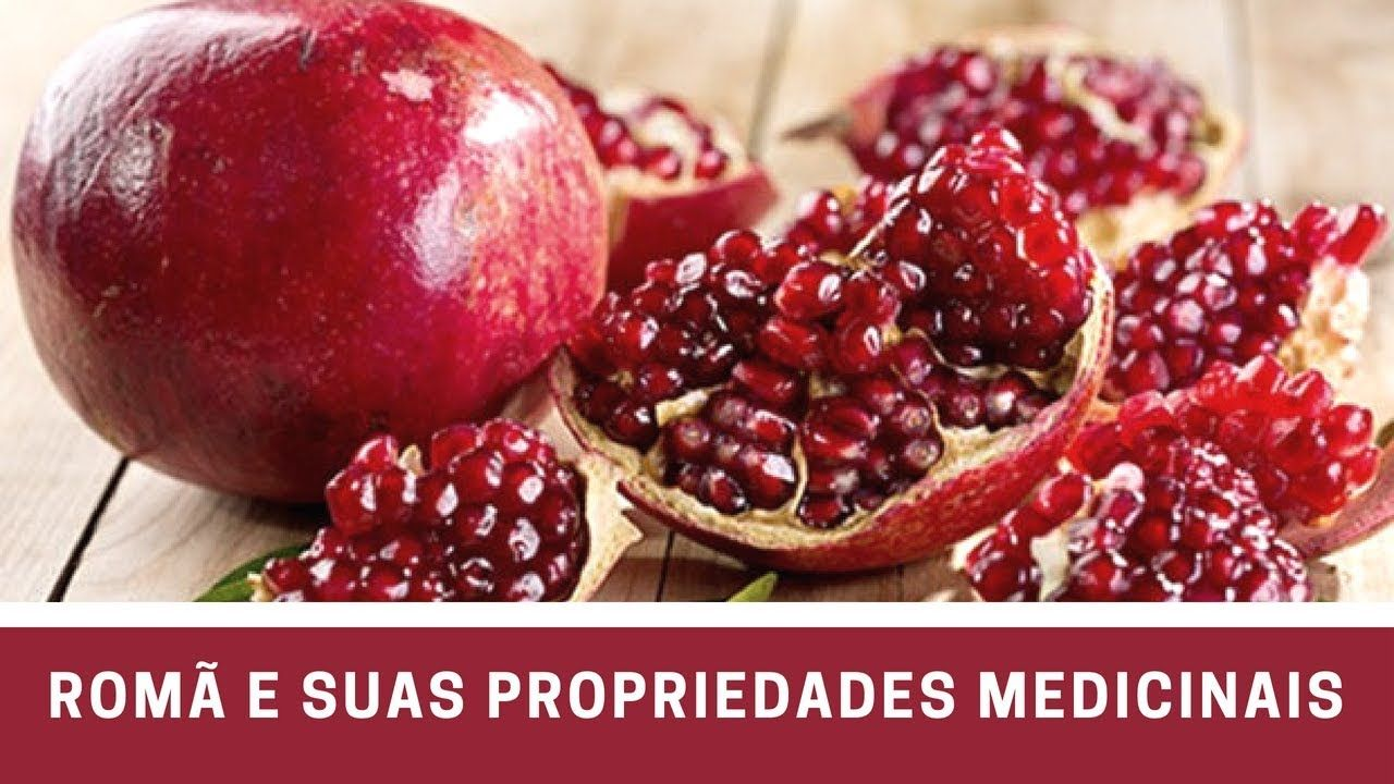 ROMÃ E SUAS PROPRIEDADES MEDICINAIS Pomegranate health