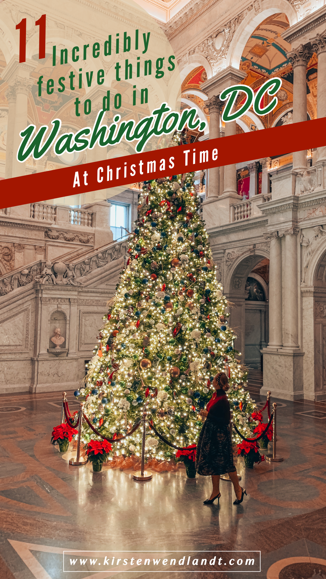 11 Incredibly Festive Things To Do In Washington Dc At Christmas Time In 2020 Washington Dc Family Vacation Christmas Travel Best Places To Travel