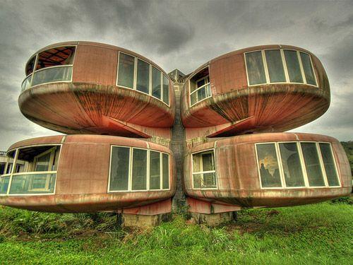 Les maisons les plus bizarres du monde : La maison OVNI à Sanjhih (Taïwan) - N°2