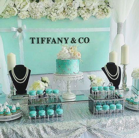 67 Ideas Breakfast At Tiffanys Sweet 16 Cake Dessert Tables #sweet16cakes