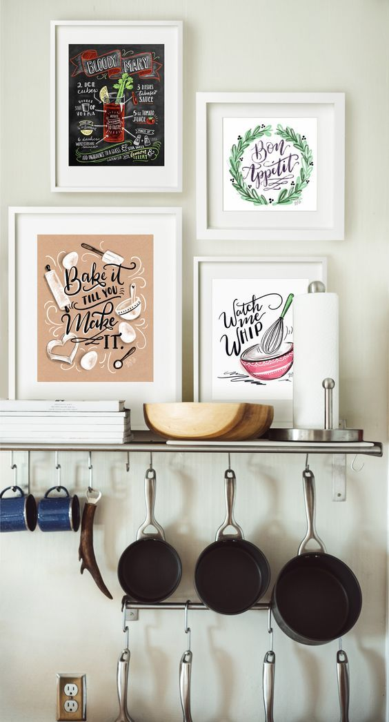 Decorate Your Kitchen Wall With Free Printable Art From Hp Hang One Piece To Shine On Its Own Or Mix And Match Create A Gallery